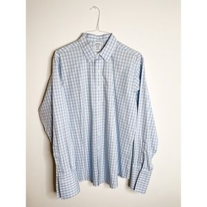 Brooks Brothers Gingham Button Down